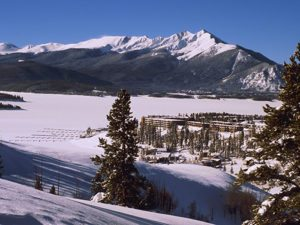 Winter Overview of Dillon