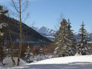 Winter View From Oro Grande Condos