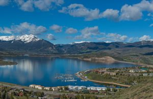 Town of Dillon, Lake Dillon, Summit County, Colorado, Summer