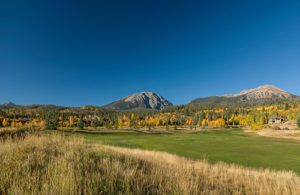 Gore Mountain Range, Raven Golf Course, Silverthorne, Colorado