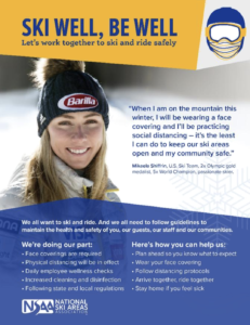 Renowned skier Mikaela Shiffrin promotes mask wearing